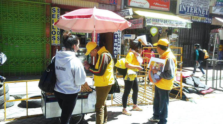 """Sol.bo lucha por convertir a El Alto """"en su bastión"""""""